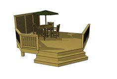 Free Deck Plans 1L080