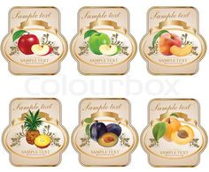 Vector of 'Label for product'