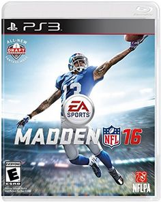 Madden NFL 16  PlayStation 3 -- Click on the image for additional details. Note:It is Affiliate Link to Amazon.