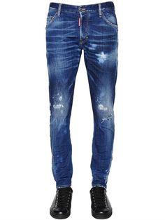 16cm Stretch Denim SEXY TWIST Jeans Spring/summer Dsquared2 EtxyTch