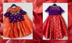 Mom & Daughter Combo Choice on fabric material, designing and sizes are available. For more details: 8883122233 Kids Frocks, Frocks For Girls, Dresses Kids Girl, Kids Outfits, Kids Indian Wear, Kids Ethnic Wear, Kids Dress Wear, Baby Dress, Kids Gown