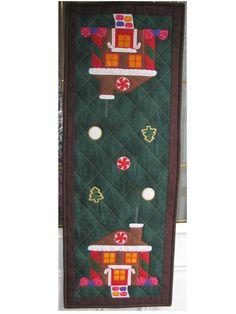 Gingerbread House Table Runner