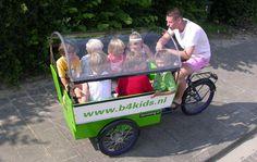 Uma solução para levar as crianças para a escola sem usar o carro