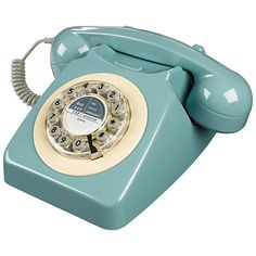 Buy Wild & Wolf 746 1960's Corded Telephone Online at johnlewis.com Check alternative colours!!!! Red, mustard and teal. DON'T BUY FROM JL - can get cheaper on Google shop!