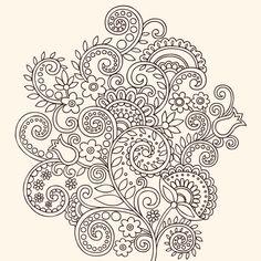 Plantillas de tatuajes de enredaderas - Cuerpo y Arte