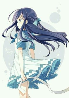 If i'm not mistaken, this is a character from nagi no asukara... Anyway, still good work ^^