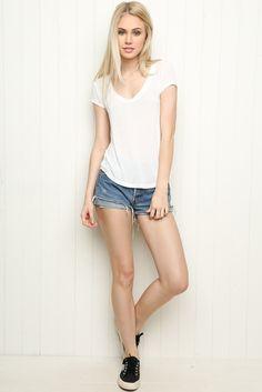 Brandy ♥ Melville | Stella Top - Clothing