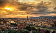 Florence Sunset,Italy. #travel-paradise divine, italy