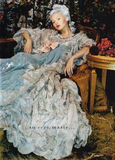 Marie-inspired editorial for Vogue Espana