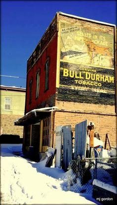 Bull Duram Tobacco Ghost sign