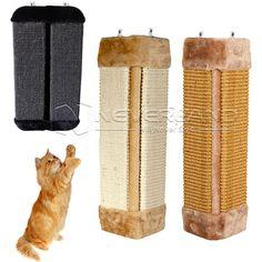 Corner Floor Wall-Mounted Scratcher Vertical Sisal Cat/Kitten Scratching Post