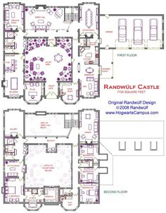 Midevil castle floor plans new 2 story castle with courtyard dream house Castle Floor Plan, Castle House Plans, Dream House Plans, House Floor Plans, Floor Plans 2 Story, The Plan, How To Plan, Castle Layout, Casa Patio