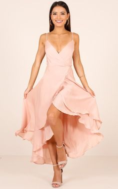 Bad Liar Dress In Blush Satin Produced - If you& struggling trying to work out what to wear to that wedding or event this season, look no further! Our & Liar& dress is the perfect occasion dress. = Source by johnahlionell - Blush Dresses, Bridesmaid Dresses, Prom Dresses, Summer Dresses, Elegant Dresses, Sexy Dresses, Wedding Dresses, Year 10 Formal Dresses, Fantasy Dress