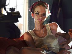 ArtStation - sketch 2, Li Didivi