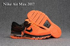 Men's Nike Air Max 2017 KPU Shoes Orange/Black UK Trainers Sale arrive in our store for you! All Nike Air Max 2017 Mens with high quality on sale! Best Nike Running Shoes, Nike Air Max Running, Mens Running Trainers, Running Sports, Mens Trainers, Nike Air Max 2017, Cheap Nike Air Max, Nike Shoes Cheap, Cheap Air