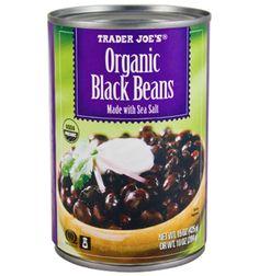 Trader Joe's Organic Black Beans $1.19