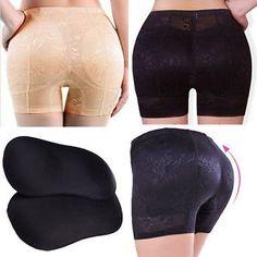 39342df0df New Women Padded Full Butt Hip Enhancer Panties Shaper Ladies Fake Ass  Underwear. eBay. New Women Crossdressers Hip Up Padded Panties Enhancing ...