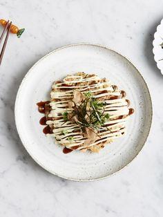 Okonomiyaki with all the trimmings! Recipe – Julia Busuttil Nishimura & Norihiko Nishimura, Styling