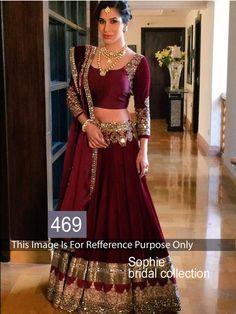 Bollywood Sari Indian Designer Saree Party wear Pakistani Women Lehenga 469    #StyleFashionHub #Saree #PartywearWeddingFestivalBridalCasual