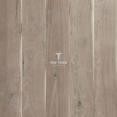 Ted Todd  dovecote flooring, American black walnut with grey-brown tones. The bleached planks with naked skin lacquered finish.