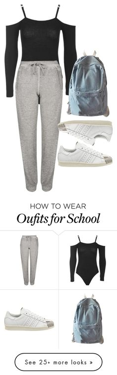 """""""Untitled #2905"""" by bekahtee on Polyvore featuring Topshop and WithChic"""