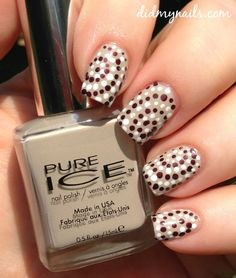 dotted nail art design ideas #naildesigns #nailideas