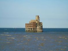 For sale: Abandoned fort on the River Thames - off the coast of the aisle of Grain..England..Lists - Weird News - The Independent