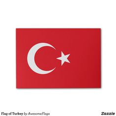 Flag of Turkey Post-it® Notes
