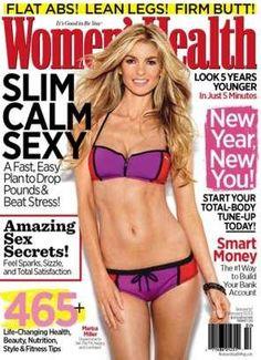 Marisa's diet secret. Eat. Naked.