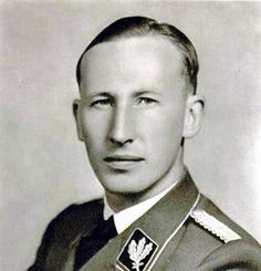 "Face of evil: Hitler called him ""the man with the iron heart"". SS Obergruppenführer Reinhard Heydrich, known even to his own colleagues as the ""God of Death"", was head of the RSHA (central Reich security). The senior Nazi representative at the notorious Wannsee conference, he was instigator of the ""Final Solution"" genocide against Europe's Jews. http://www.lberger.ca/Leon_Berger/Memoir__Lunch_With_Charlotte.html"