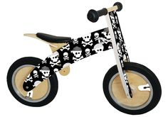 Kiddimoto - Skull & Bone Balance Bike