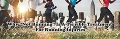 If you are a runner, and you got a running injury, you may have been to the doctor. And let me guess, your doctor told you to stop running.  In this podcast we're going to talk about the ways stopping running can place you at higher risk of running injuries down the road.