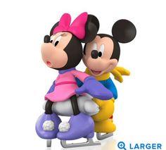 Mickey and Minnie Hallmark Ornament 2015