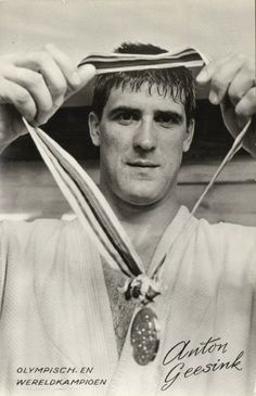 Anton Geesink - was a Dutch judoka. Anton, Sports Medals, Dutch People, Mma Fighting, Hometown Heroes, Olympic Sports, Sport Icon, Kingdom Of The Netherlands, People Around The World