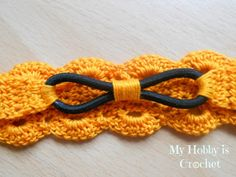 Thread headband- free pattern and tutorial ✿⊱╮Teresa Restegui http://www.pinterest.com/teretegui/✿⊱╮