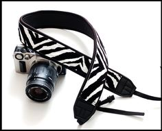 Fun Camera Strap that is now interchangeable   by sizzlestrapz, $39.99