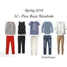 """Spring Wardrobe Essentials"" by bluehydrangea on Polyvore"