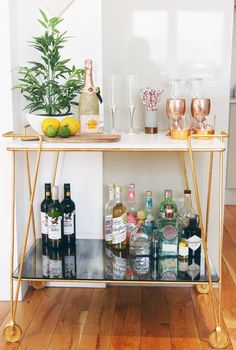 Zoella | Dreamy Bar Cart