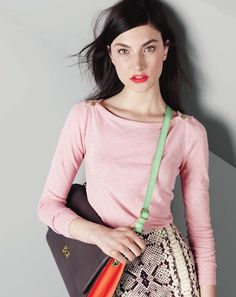 I love this bag....but apparently is from J.Crew in August 2012. Waaah.