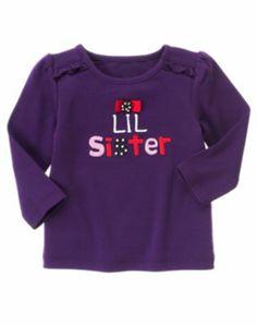 Gymboree WINTER PENGUIN Purple Lil Sister Bow Dot Button Top Tee Shirt NWT