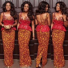 Everyone is looking for the latest ankara style to make and rock, but look no further, fashion police Nigeria has got your back. From the short gowns, to the crop tops, we will show you the ankara styles we are loving right now and we think you will love. African Dresses For Women, African Attire, African Wear, African Women, African Style, Unique Ankara Styles, Ankara Gown Styles, Ankara Gowns, Ankara Clothing