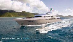 Luxury Superyacht Nedship 42 For Sale ~ l SuperYachts.Com