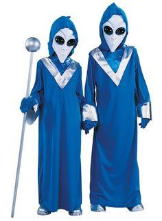 Child Space Alien Costume X-Large: Complete Blue Alien UFO Space Martian Boys Fancy Dress Halloween Party Costume X-L Costume Halloween Alien, Kids Alien Costume, Childrens Halloween Costumes, Kids Costumes Boys, Halloween Fancy Dress, Halloween Kostüm, Alien Cosplay, Halloween Masquerade, Toddler Halloween