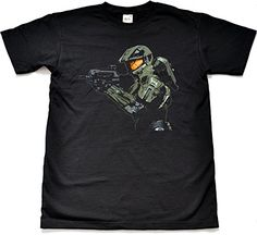 Teamzad Master Chief Spartan Camiseta para hombre Small #camiseta #starwars #marvel #gift