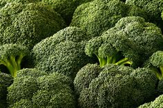 Broccoli is chock full of cancer-fighting antioxidants, plus beta-carotene, vitamin C and folate which keep your immune system happy and reduce risk of cataracts and heart disease. Broccoli is also an awesome source of both soluble and insoluble fiber. Is there anything broccoli can't do?
