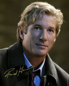 RICHARD GERE HOT RARE SIGNED AUTOGRAPH 8X10 PP PHOTO 454