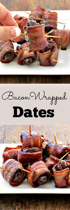 Bacon wrapped dates in Melbourne