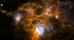 A Puzzling Cosmic Ring seen by herschel