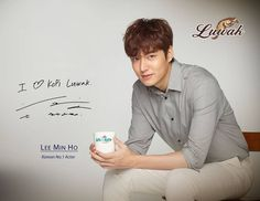Lee Min Ho for Luwak White Koffie.