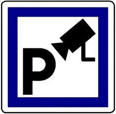 Parkeerplaats, Secure, Camera